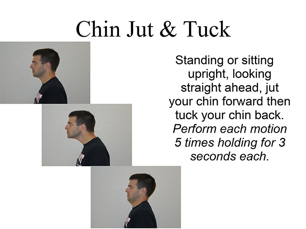 cervical stretches